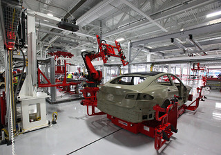 Tesla Pumps the Breaks on California Plant to Make Room for Assembly Robots Down the Road